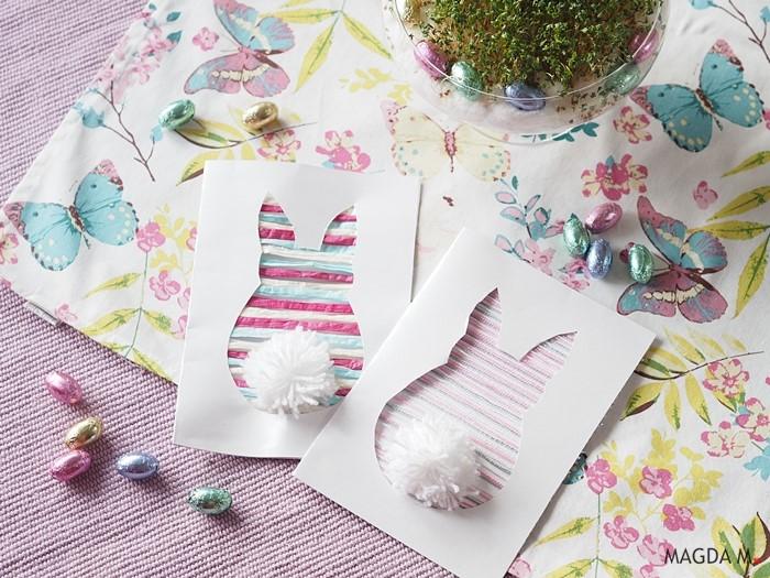 Wielkanocna kartka DIY