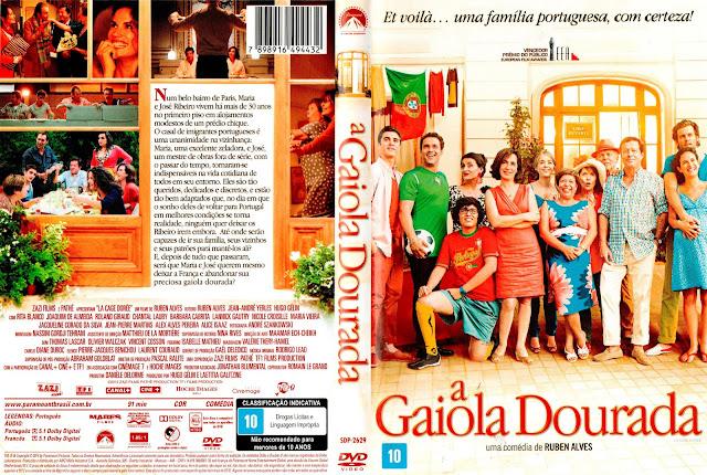 Capa DVD A Gaiola Dourada