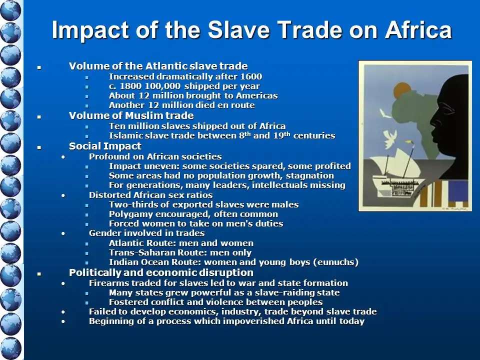 atlantic slave trade social and cultural impact The impact of the slave trade on african economies warren whatley and rob gillezeau may 23, 2009 contact information warren whatley, department of economics, university of michigan, 611 tappan street, ann arbor, mi, 48104.