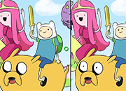 Adventure Time See the Difference juego