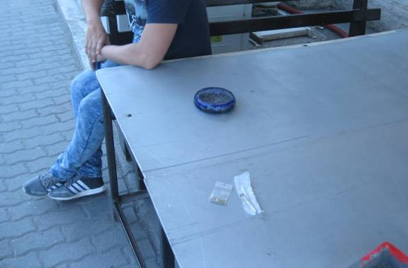 Polițiștii locali au depistat cinci tinerii deținând substanțe interzise in acest weekend
