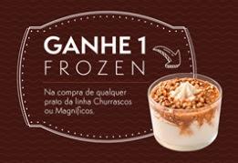 Promoção Giraffas Rodrigo Faro Compre e Ganhe Sorvete Frozen