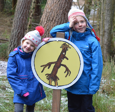north east family fun at a stickman trail thanks to the forestry commission