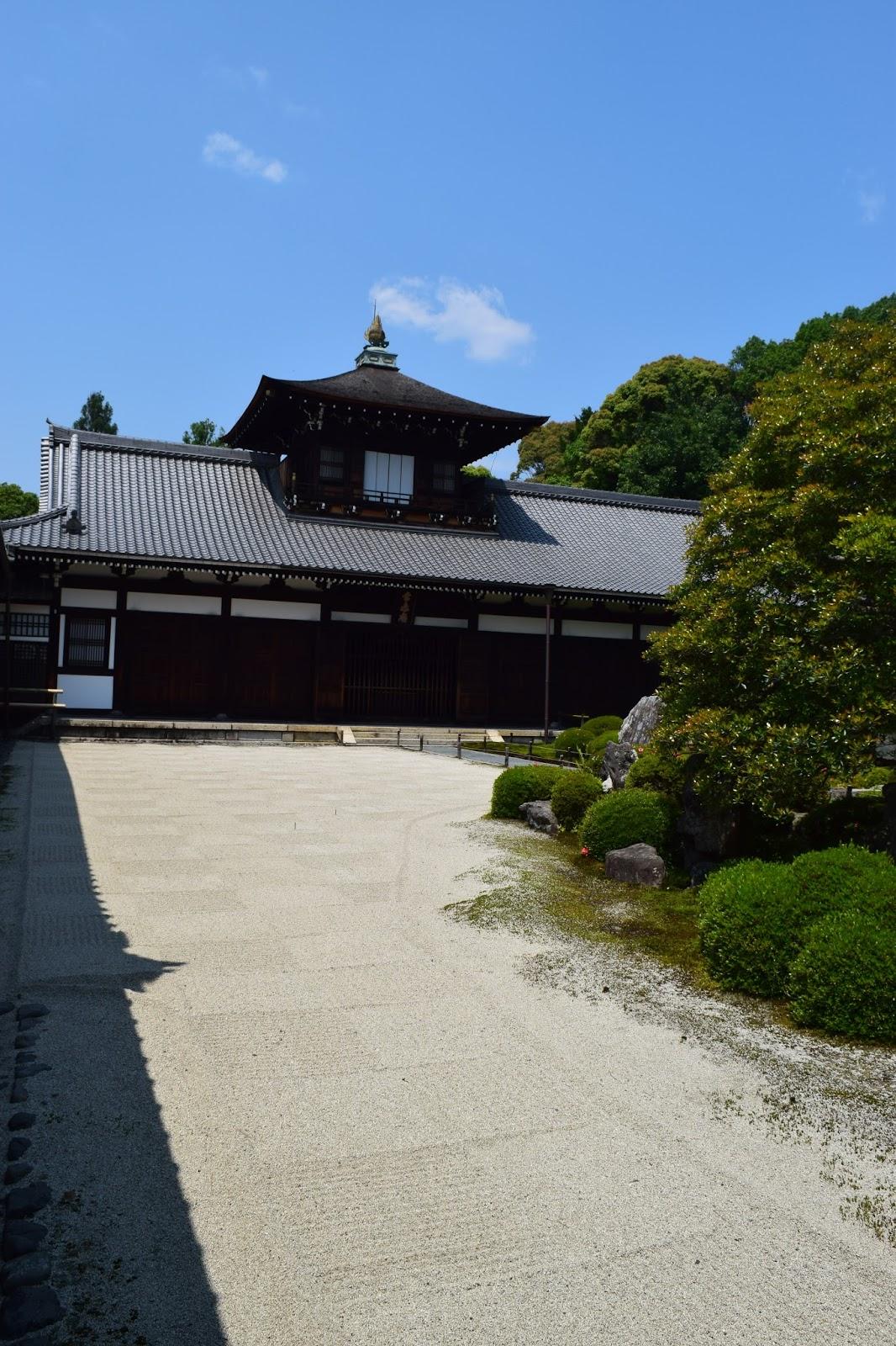 Tofukuji Kaisando Zen garden