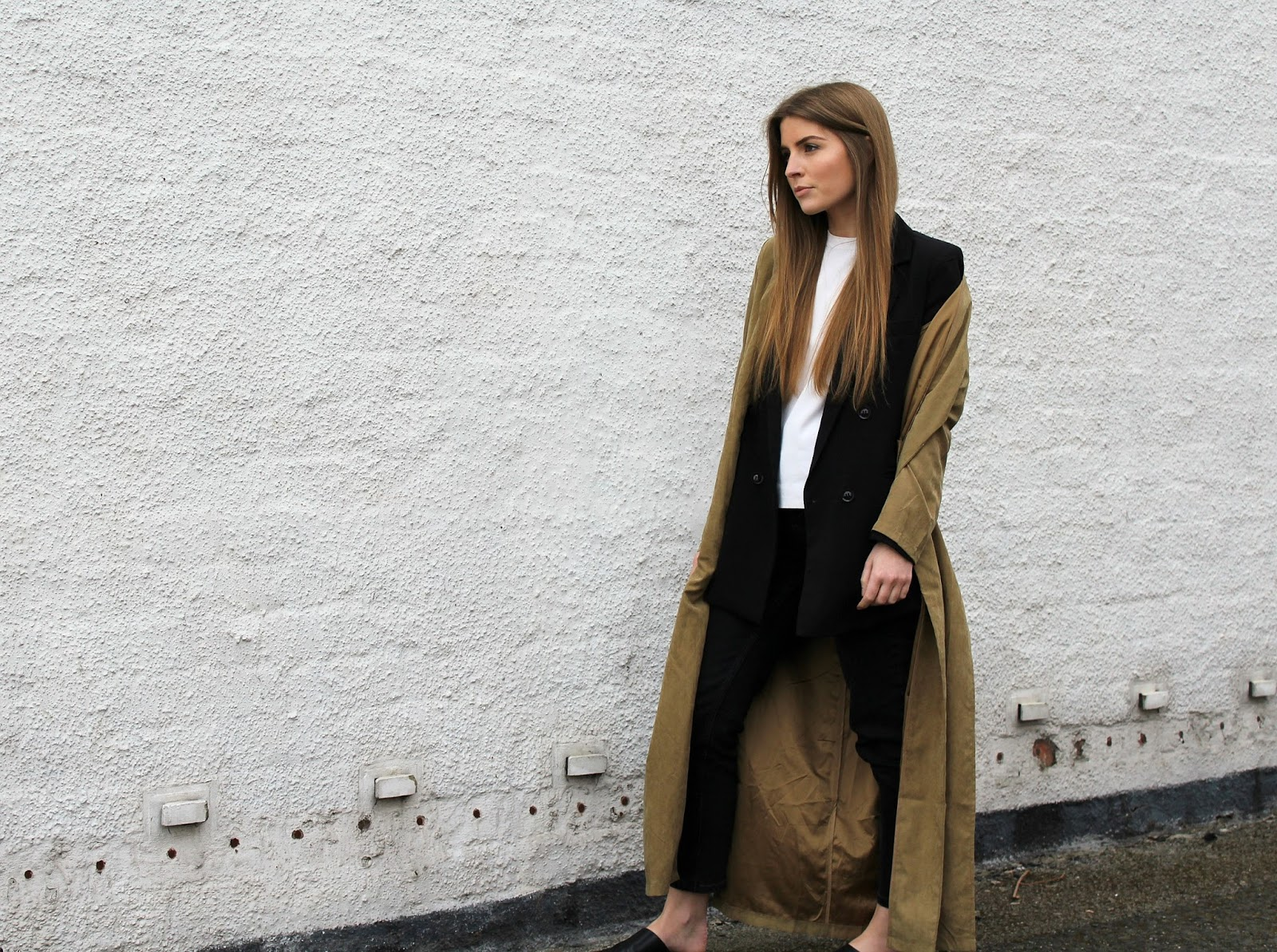 Outfit Layered Blazer and Duster Coat  sc 1 st  Style Trunk & Style Trunk : Outfit: Layered Blazer and Duster Coat