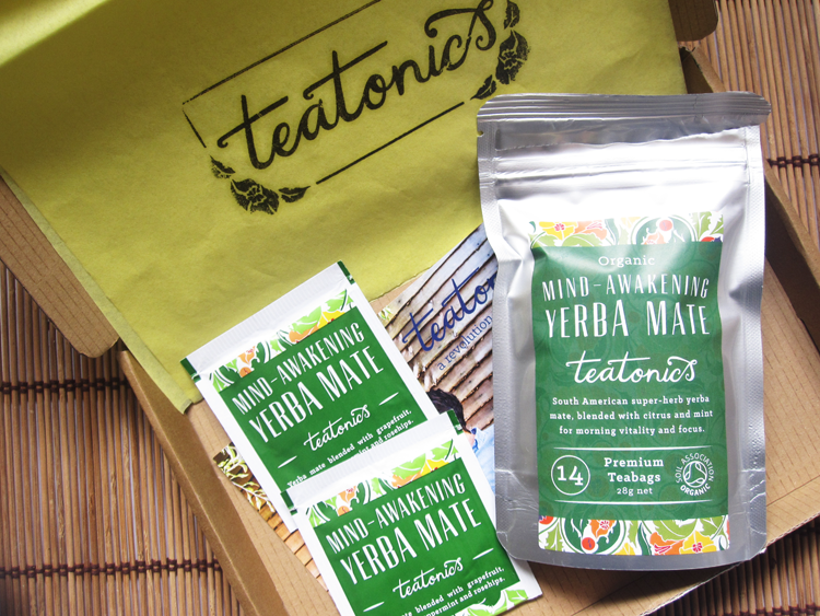 Teatonics Mind Awakening Yerba Mate tea review