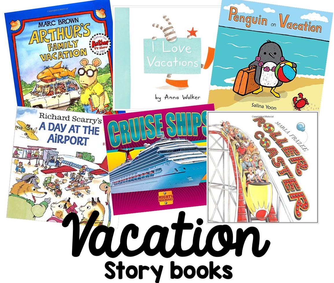 Preschool Ponderings Preschool Books About Vacation