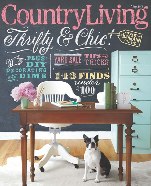 Last Fall While Discussing The Details Over Feature On Our Guest House I Was Asked To Join Country Living Magazine As A Contributing Editor
