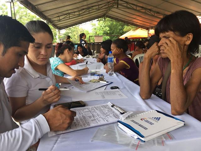 ACNUR y OIM apoyan el registro de venezolanos en Colombia