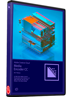 Adobe Media Encoder CC 2017 box