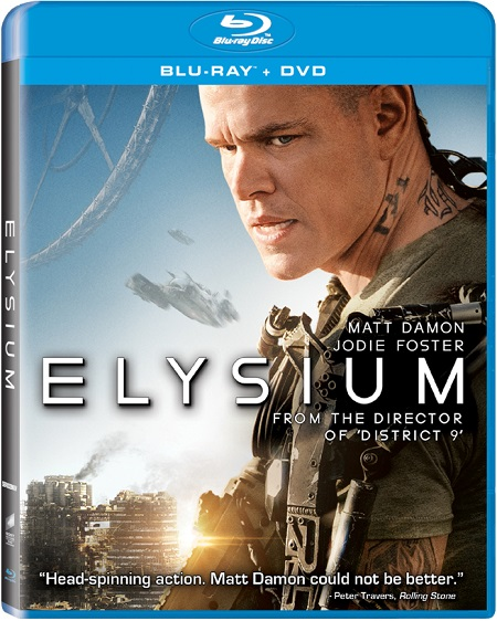 Elysium 2013 Hindi Dubbed Dual Audio BRRip 720p