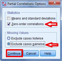cara menghitung korelasi parsial dengan menggunakan program spss statistik 6