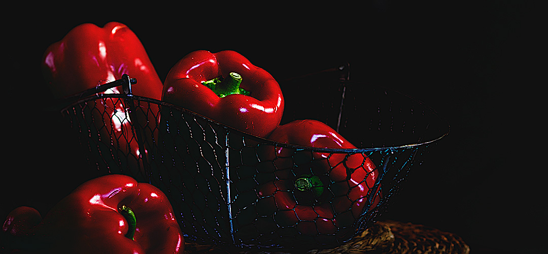 Asadillo de pimientos manchego