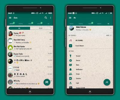 BBM Mod WhatsApp Apk 3.3.4.48 Clone Terbaru [WA]
