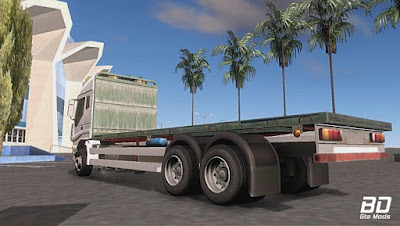 Download mod caminhão  Iveco Stralis para GTA San Andreas , GTA SA , Jogo PC