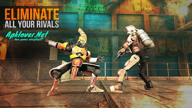 Clash Of Robots MOD APK unlimited money