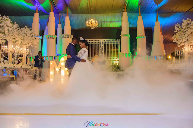 Beautiful photos from the grand wedding of Mary and Michael Shobukola organized by Events by SI