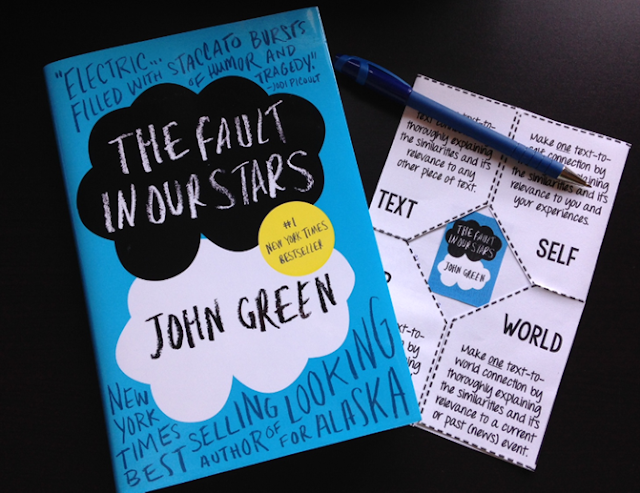 The Fault in Our Stars Novel Unit by The Classroom Sparrow