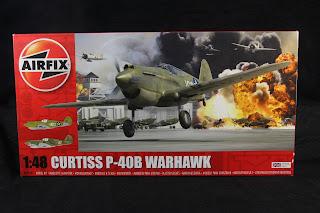 P-40 B warhawk airfix