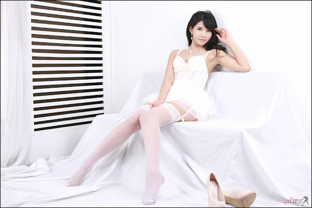 1 Cha Sun Hwa - Sexy White -Very cute asian girl - girlcute4u.blogspot.com
