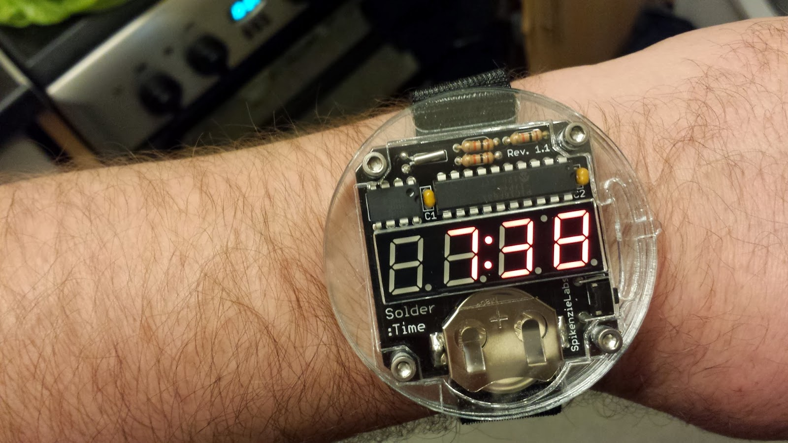 Daves Z80 Journey Circuitlab Arduino 555 Watchdog Circuit I Prefer A 24 Hour Clock And This Is Programmed Just To Display The 12 But Its Still Great Watch Wearing It About At Work Has Become