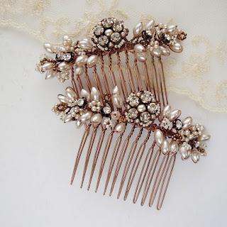 Hochzeit, Haarbrosche, Mariage Bijoux, weddings, bridal