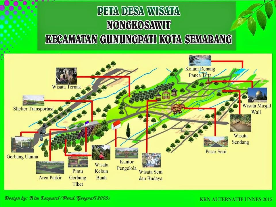 Desa Wisata Nongkosawit Gunungpati Kota Semarang Life Learning Blogger