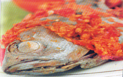 ikan rica-rica khas manado