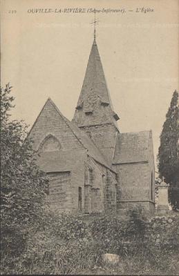 Eglise d'Ouville-la-Rivière AD76