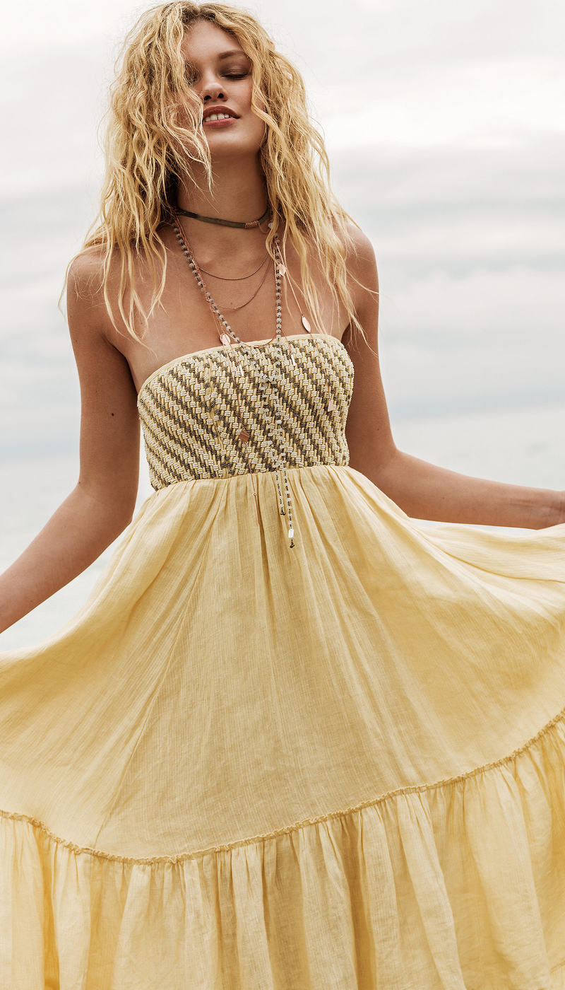Free People Shimmers in the Sky Maxi