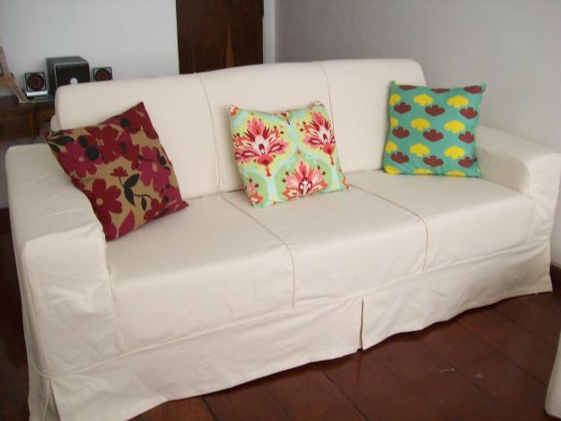Arte e formas eli estofados: capa para sofa sob medida