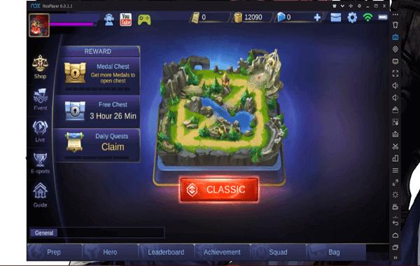 Cara main game mobile legends