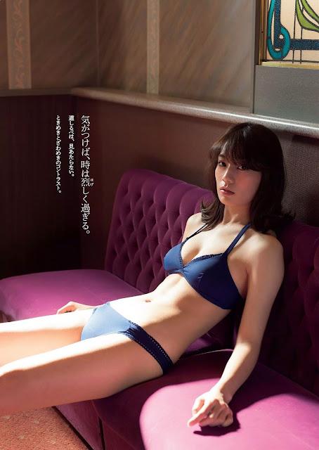 佐藤美希 Sato Miki 週刊プレイボーイ Weekly Playboy Feb 2016 Pics 7