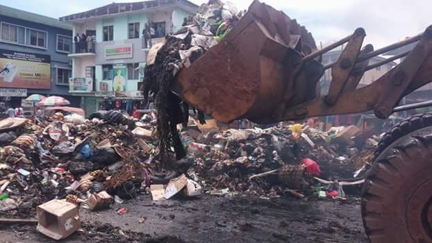 Rochas has disrupted evacuation of refuse dump on Douglas Road with thugs - residents