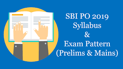 SBI PO Exam Pattern 2019