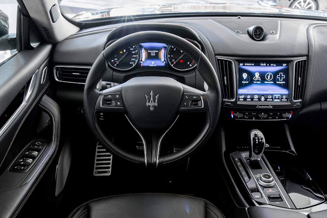 Maserati Levante - Brasil - interior