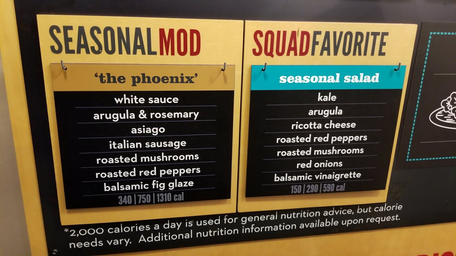 MOD Pizza announces seasonal pizza + salad {+ $25 giveaway! ends 2/22}