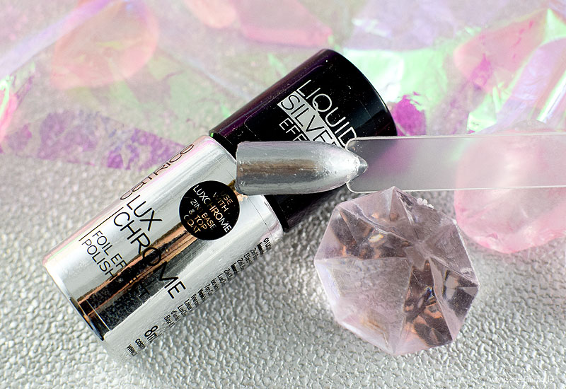 Der Catrice Luxchrome 2in1 Base & Top Coat Foil Effect Polish, Review