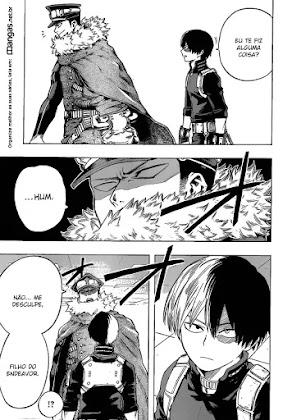 Mangá Boku No Hero Academia Capítulo 109