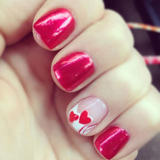 Nail Art Valentines Day: Valentine's Day Nails