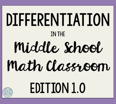 I remember learning about differentiated education for the first time in Dr. Merritt's course and I became so in love with the idea I read everything I could get my hands on.