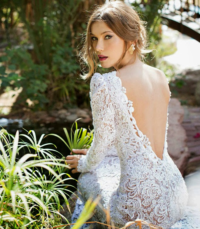 Orchid Bridal Collection by Julie Vino Spring 2015 - Belle The Magazine