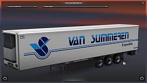 Van Summeren standalone trailer