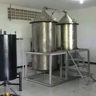 Alat Destilasi Uap Minyak Minyak Atsiri 9