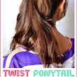 How To Make a Twist Ponytail