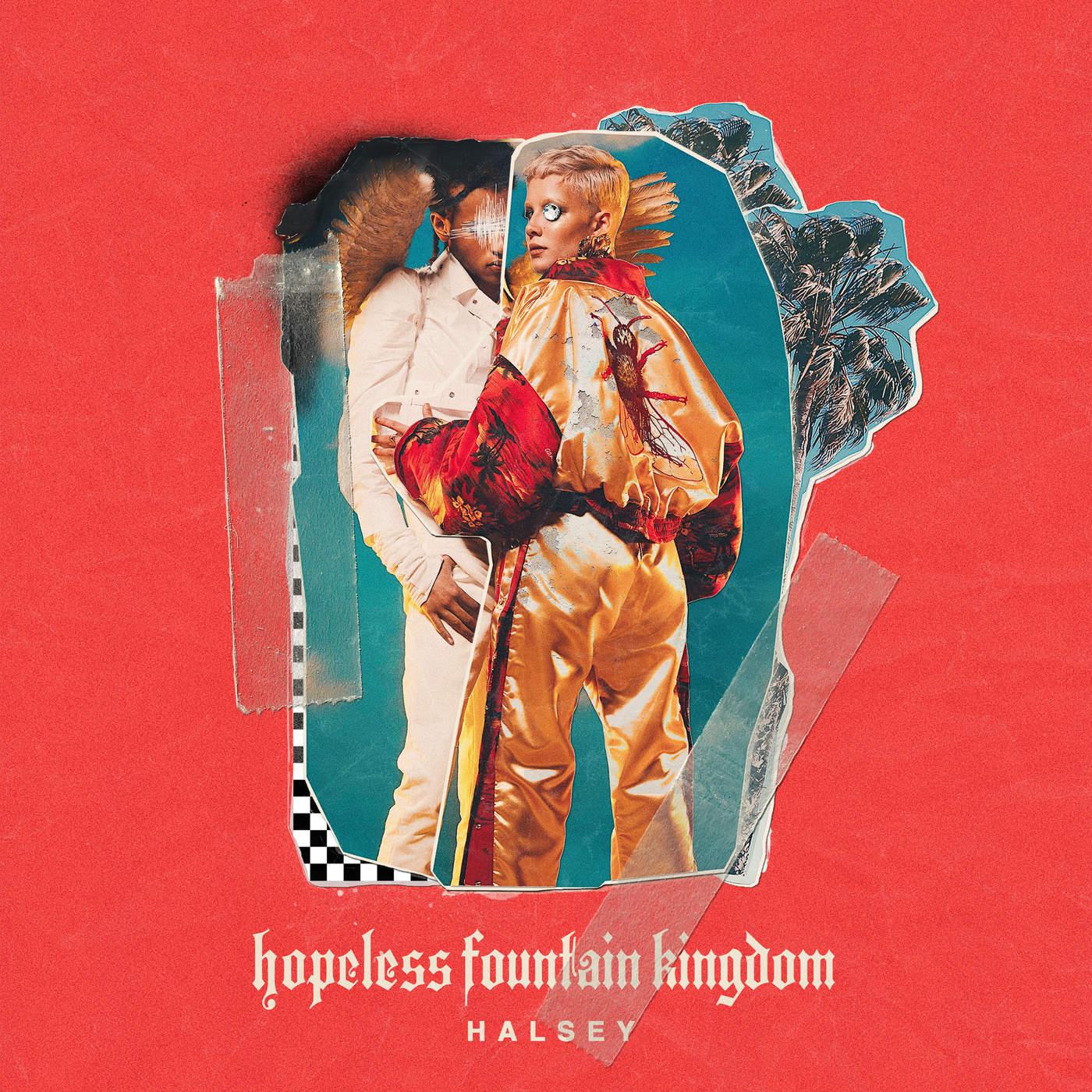 Halsey - hopeless fountain kingdom (Deluxe) Cover