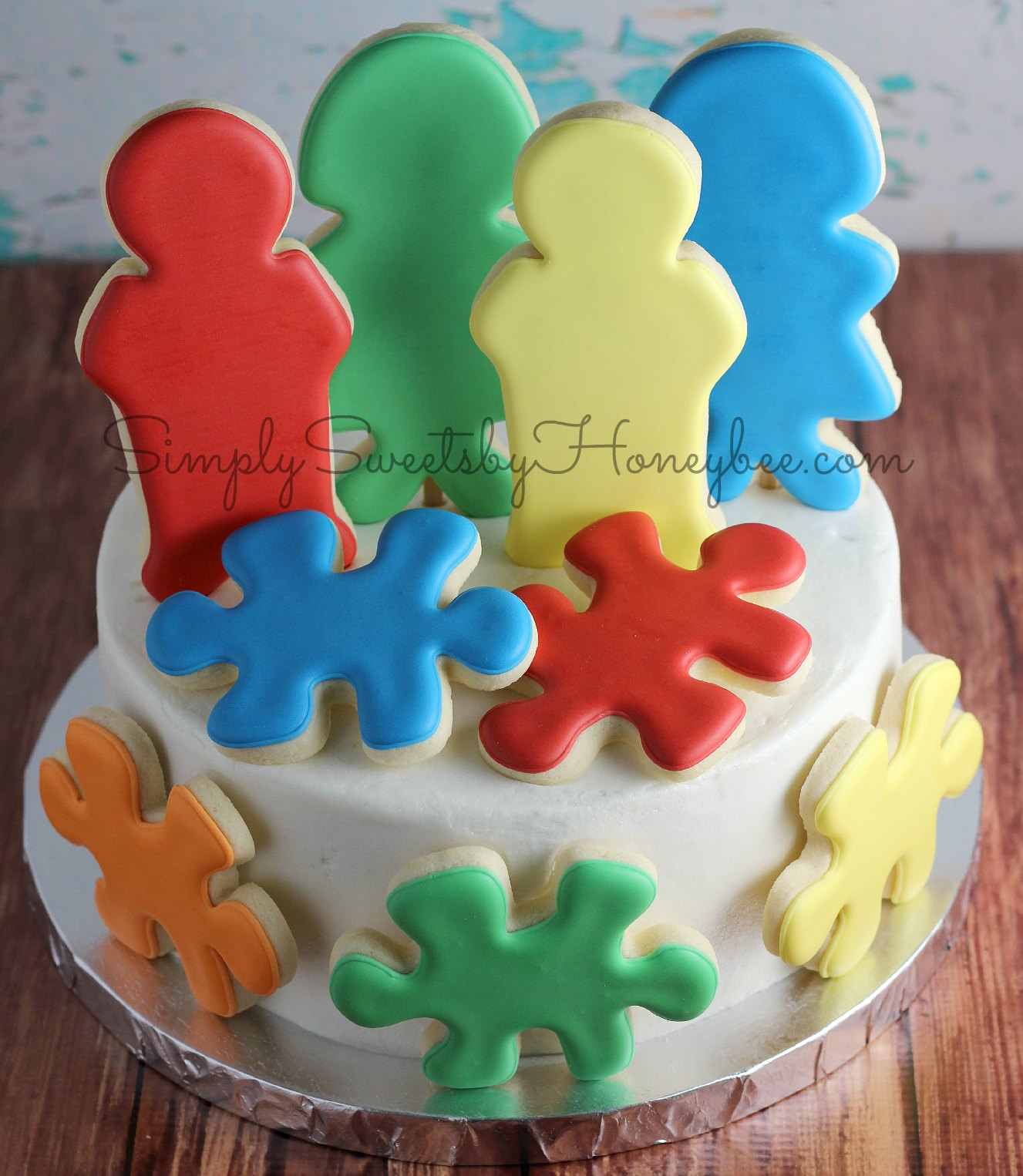 Attaching Cookies To A Cake {Tutorial ...