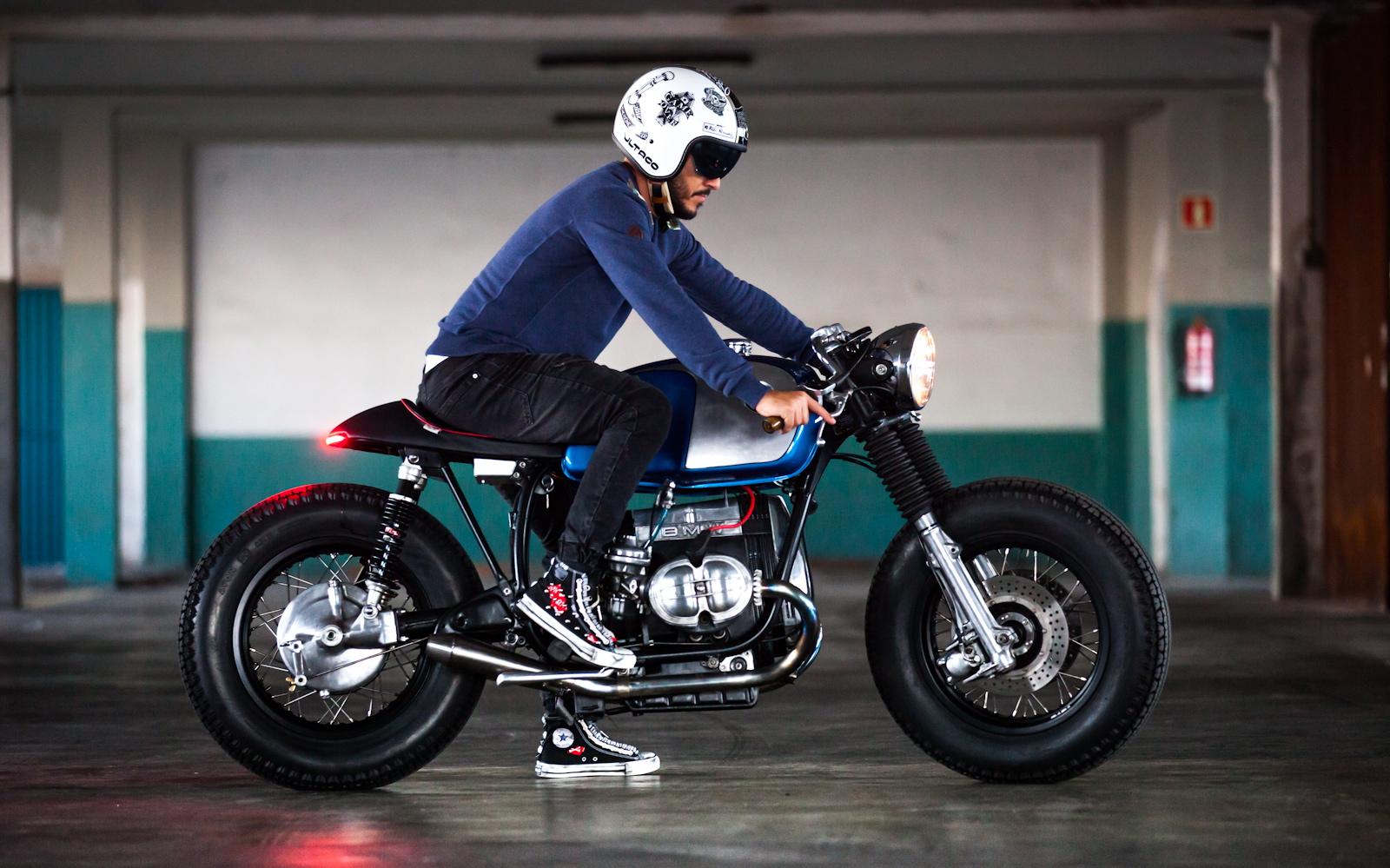 readers' rides: dani's r100 | inazuma café racer