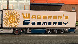 Trailer Waberer's Chereau