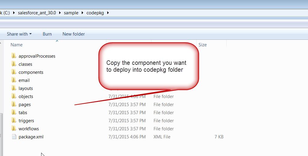 shelovestocode♥: Deploy salesforce component using ANT